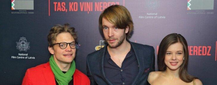 """ФОТО: В Риге представили латвийский психотриллер """"То, что никто не видит"""""""