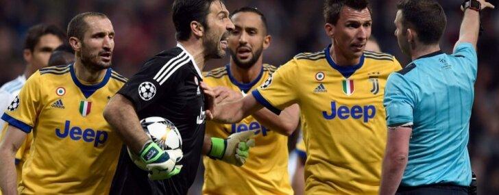 Policija izmeklēs draudus 'Real' – 'Juventus' mača tiesneša sievai