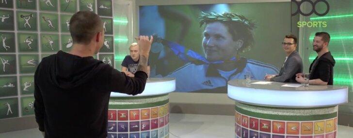 Video: Dīdžeji pret mūziķiem sporta erudīcijas spēlē 'Vai zini vairāk par Kreipānu'