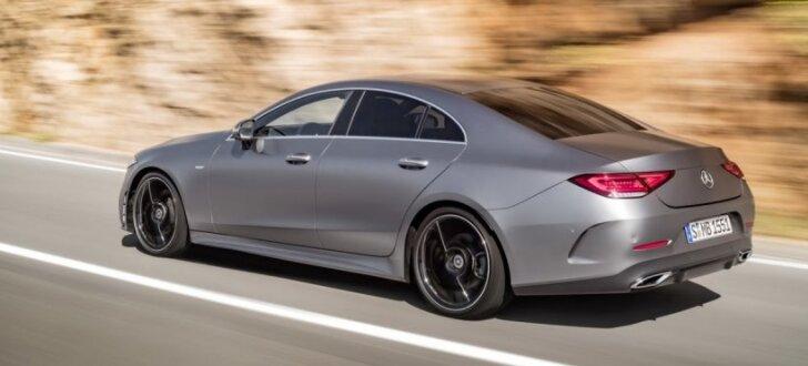 'Mercedes' oficiāli prezentējis jauno 'CLS' modeli