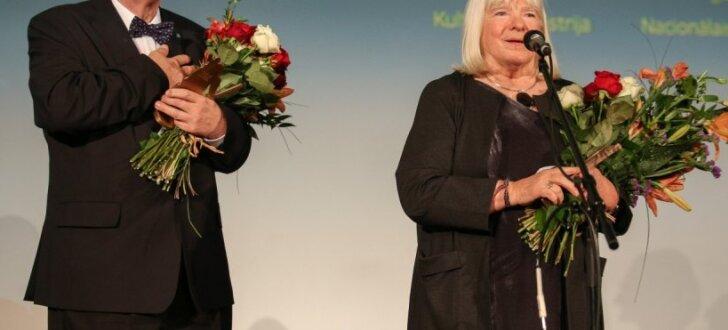 'Lielā Kristapa' atklāšanas ceremonijā godina Rozi Stiebru un Ansi Bērziņu
