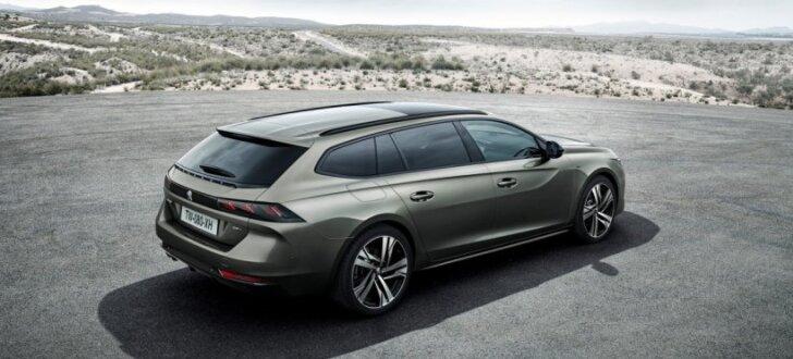 'Peugeot' parādījis jauno '508' modeļa universāli