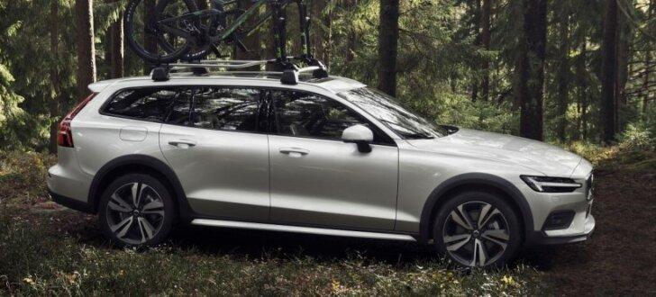 'Volvo V60' modelis ieguvis 'Cross Country' versiju