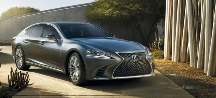 Jaunais 'Lexus LS' debitē ar 10 pakāpju pārnesumkārbu