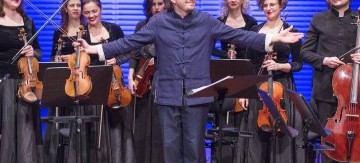 Baroka vijoles meistars Dmitrijs Sinkovskis Liepājā