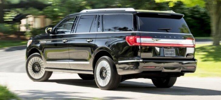 'Lincoln' parādījis vislielāko un visgreznāko 'Navigator' modifikāciju