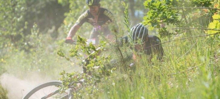 Foto: Normāla kalnu riteņbraukšanas klasika Pļaviņās