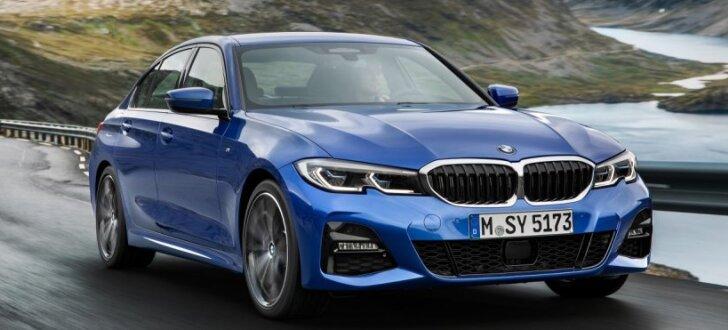 BMW prezentējis jauno 3. sērijas sedanu