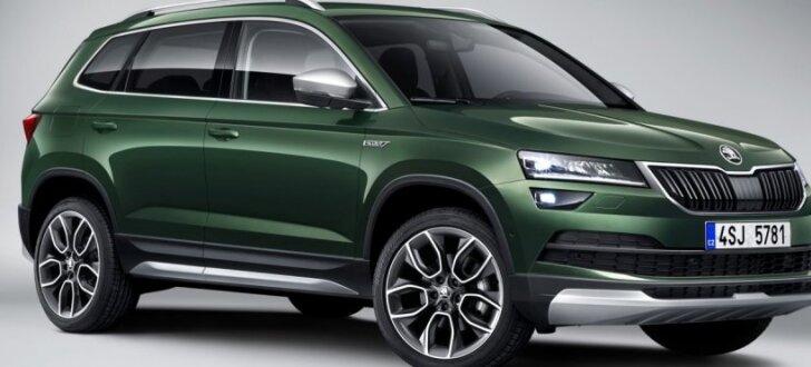 'Škoda Karoq' ieguvis paaugstinātās pārgājības versiju 'Scout'