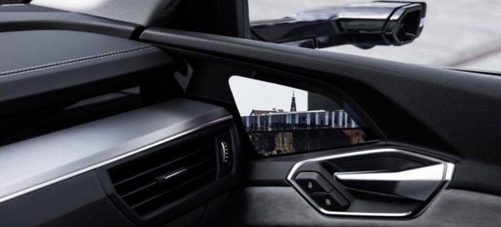'Audi e-tron' būs pirmais sērijveida auto ar virtuālajiem sānu spoguļiem