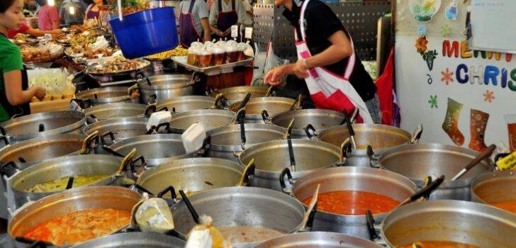 Власти Бангкока запретили уличную еду