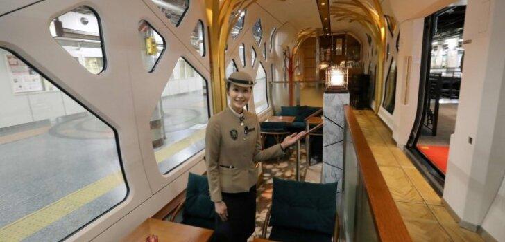 """ФОТО: Первый взгляд на японский """"лакшери"""" поезд-отель """"Остров четырех времен года"""""""