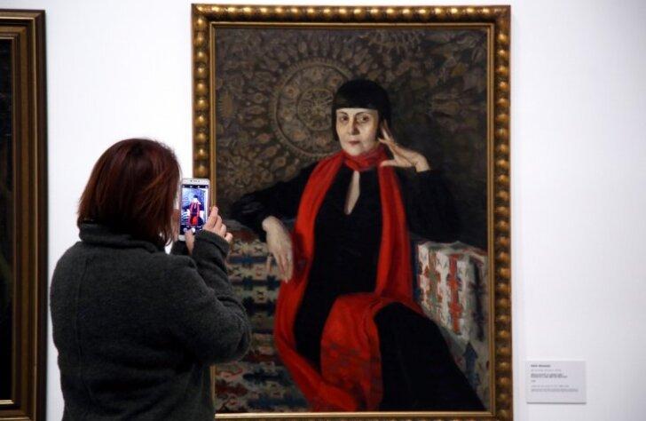 LNMM atklāta Latvijas mākslas spilgtāko portretu izstāde