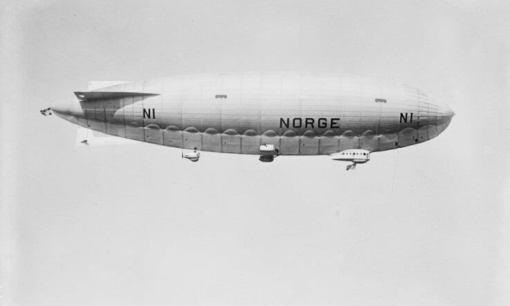 1926 год: Полет Амундсена, бескрылый самолет, рождение Винни Пуха