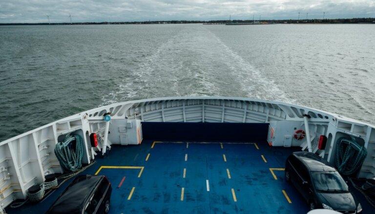 Латвия предложит Эстонии восстановить паромное сообщение между Курземе и Сааремаа