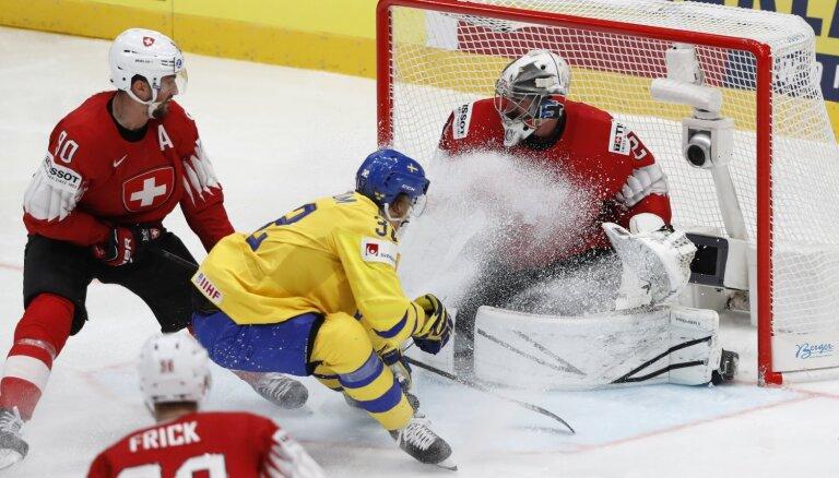 Fināla atkārtojumā aizraujošā duelī Zviedrija atkal gūst virsroku