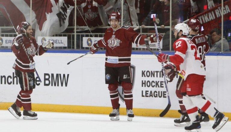 Videls atgriežas 'Dinamo' sastāvā un pagarinājumā izrauj uzvaru