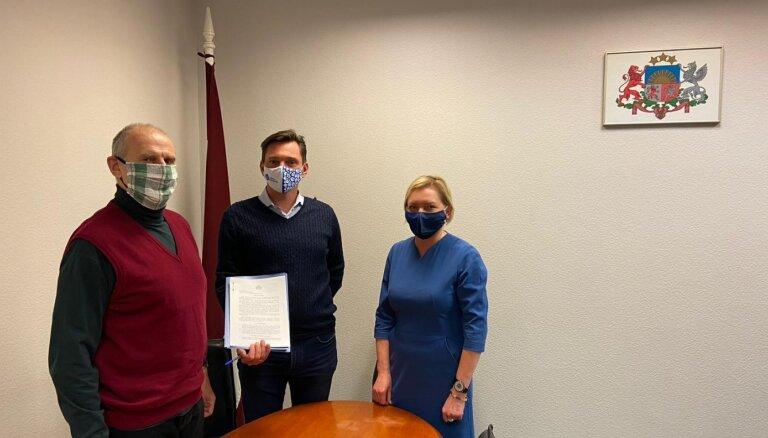Latvijas Universitāte saņem dāvinājumā zemi Jēkabpilī