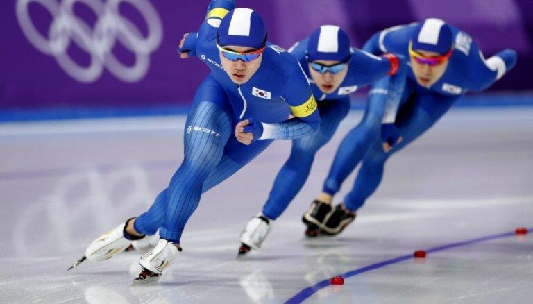 XXIII Ziemas olimpisko spēļu rezultāti ātrslidošanā (21.02.2018.)