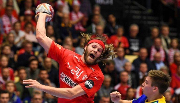 Dānijas un Norvēģijas handbolisti pievienojas Vācijai un Francijai pasaules čempionāta pusfinālā