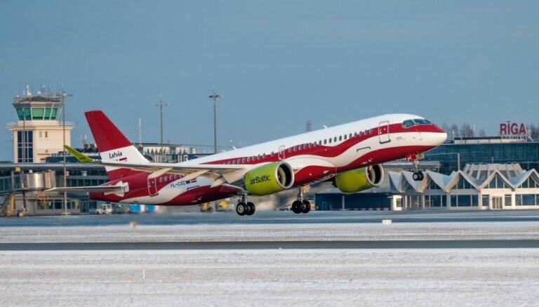 'airBaltic' pērn pārvadājis 4,1 miljonu pasažieru