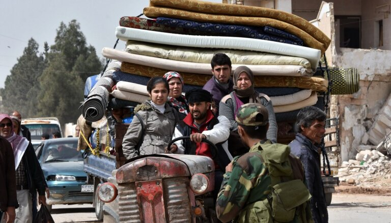 ООН может приостановить помощь Сирии