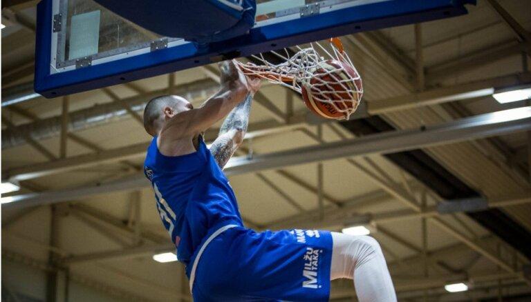 'Ogres' basketbolisti sasniedz LBL pusfinālu