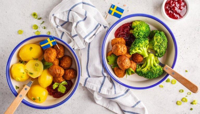 Zviedrijas garšas Latvijas virtuvēs: 20 receptes – no gaļas bumbiņām līdz kanēļmaizītēm