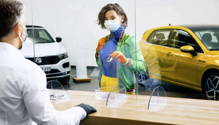 Ārkārtējās situācijas laikā VW un 'Audi' Latvijā pagarina automašīnu garantijas