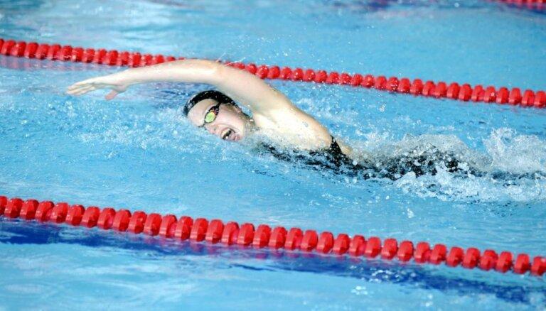 Peldētājai Ņikitinai 33. vieta pasaules čempionātā īsajā baseinā