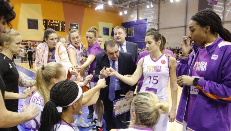 'TTT Rīga' triumfē Eiropas Sieviešu basketbola līgā