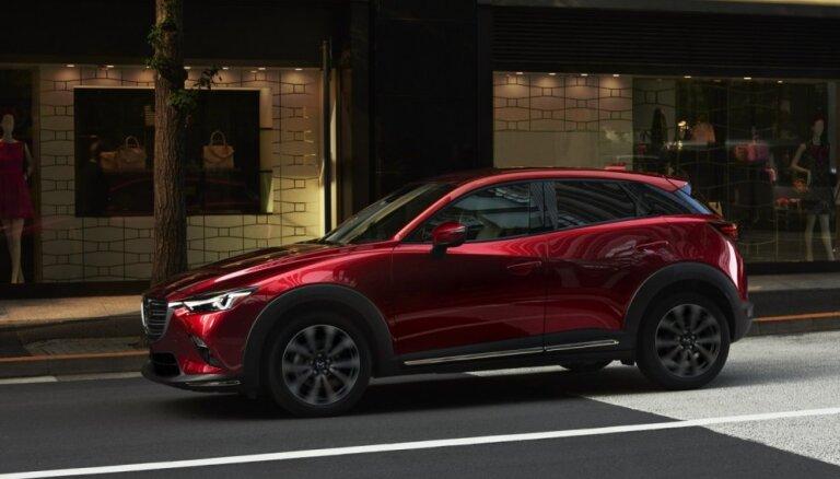 'Mazda' modernizējusi 'CX-3' apvidnieku