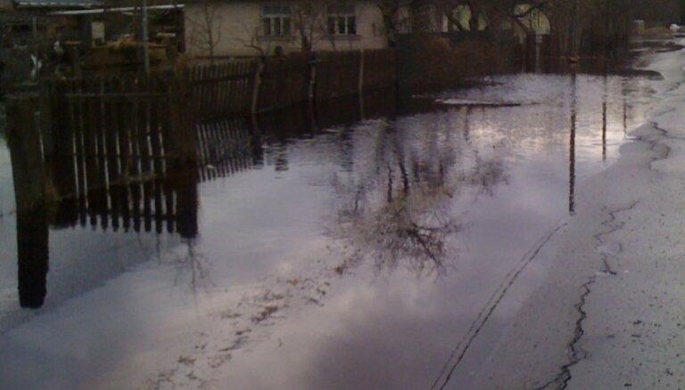 Atbildīgie dienesti gatavosies plūdiem