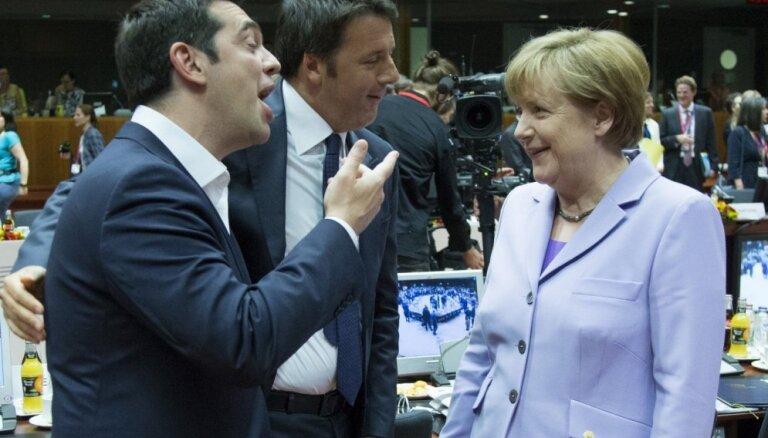 Grieķijas krīze: Ciprs, Merkele, Olands un Tusks panāk kompromisu