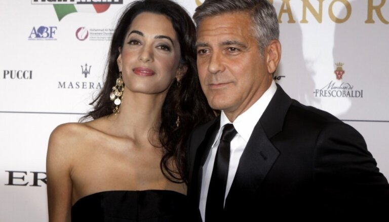 СМИ: Джордж и Амаль Клуни ждут двойню