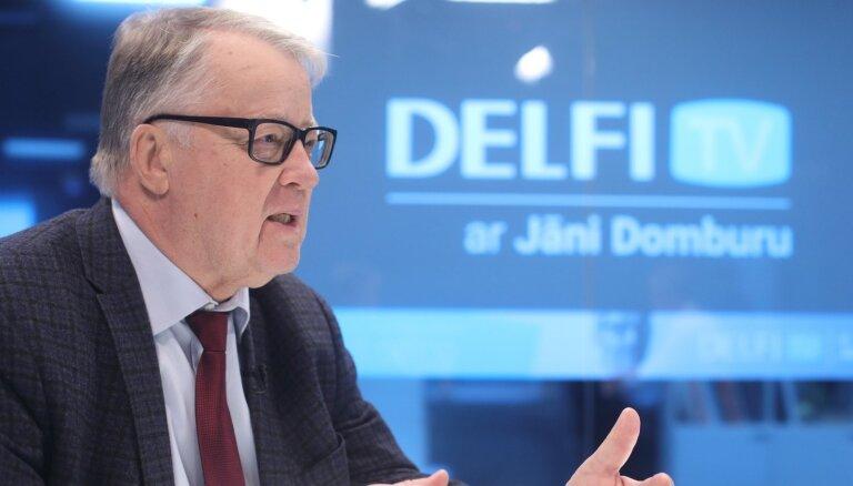 'Delfi TV ar Jāni Domburu' atbild Guntis Ulmanis. Pilns ieraksts