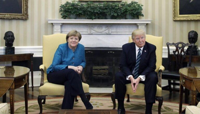 Меркель и Трамп призвали Россию к сдерживанию режима Асада