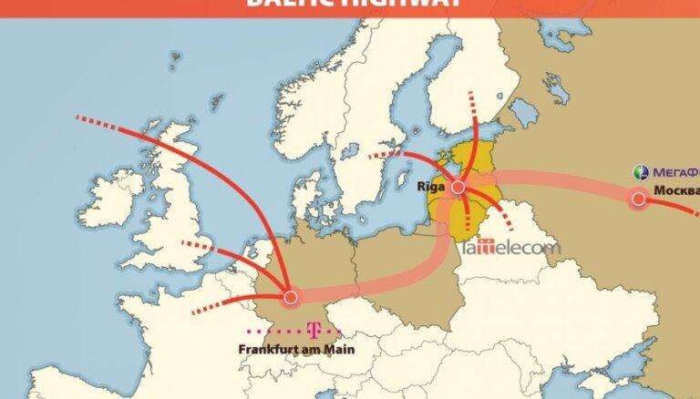 """Для латвийцев вырастет """"скорость интернета"""" с Россией и Германией"""
