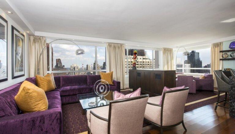 Foto: Izsmalcināti apartamenti Manhetenā ar skatu uz debesskrāpjiem
