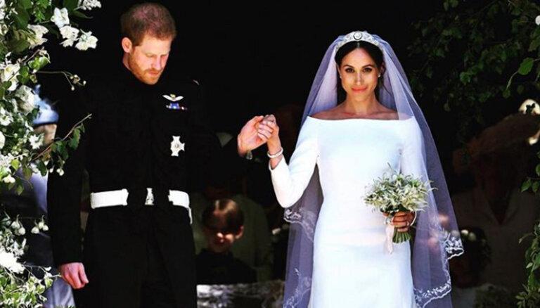 Дизайнер подвенечного платья Меган Маркл опубликовала неизвестные снимки свадебной церемонии