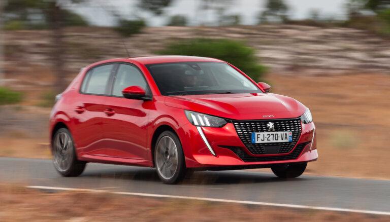 Par Eiropas 'Gada auto 2020' atzīts jaunais 'Peugeot 208'