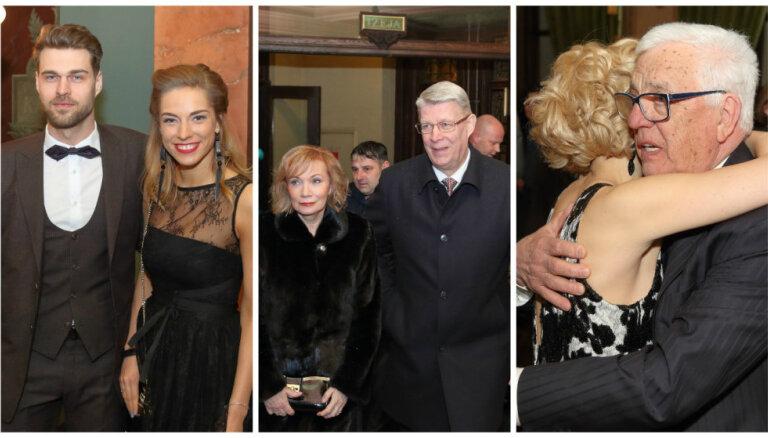 Foto: Kultūras gardēži pulcējas 'Lielās mūzikas balvas' ceremonijā