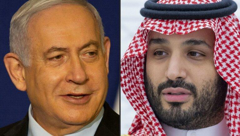Netanjahu slepus ticies ar Saūda Arābijas kroņprinci