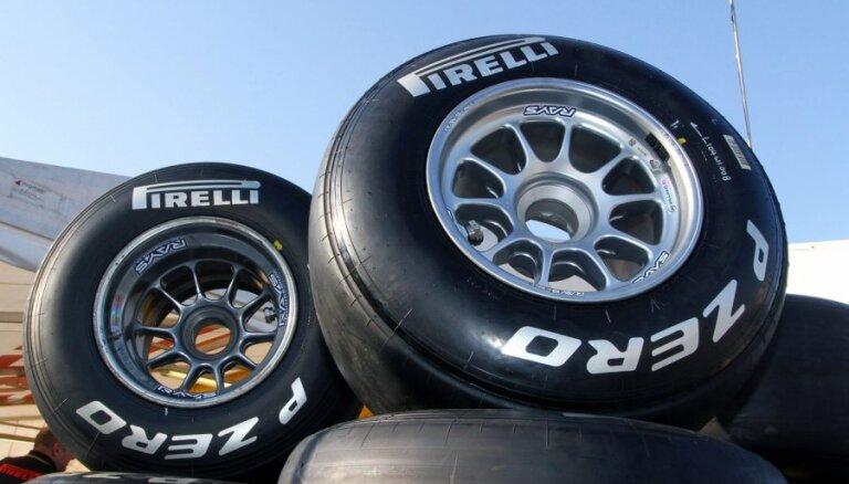 'Lotus' un 'Ferrari' gatavi noprotestēt izmaiņas riepu noteikumos