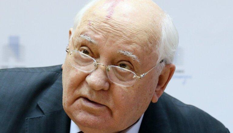 Горбачев заявил о начале новой гонки вооружений