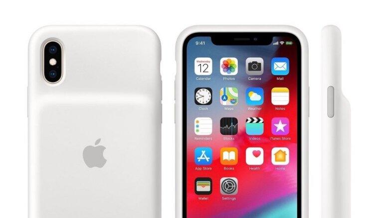 Ne tik neglīti kā iepriekš — 'Apple' izlaiž bateriju vāciņus jaunajiem 'iPhone'