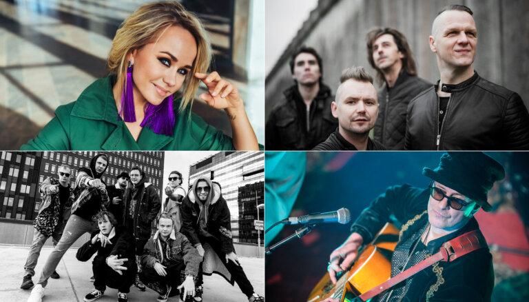 Koncertu sērijā uz 'Dominas' jumta uzstāsies virkne Latvijā zināmu mūziķu