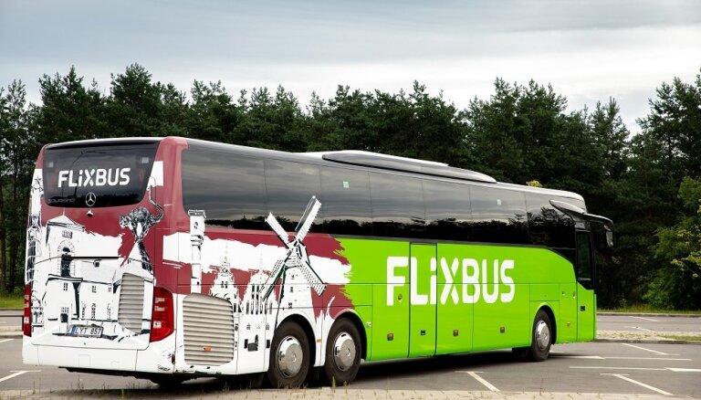 ФОТО: FlixBus запускает недорогие автобусные рейсы Рига - Варшава
