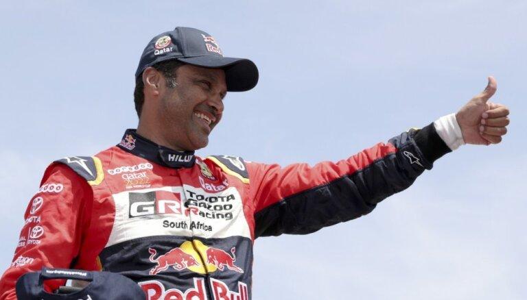 Al-Atija trešo reizi karjerā triumfē Dakaras rallijreidā