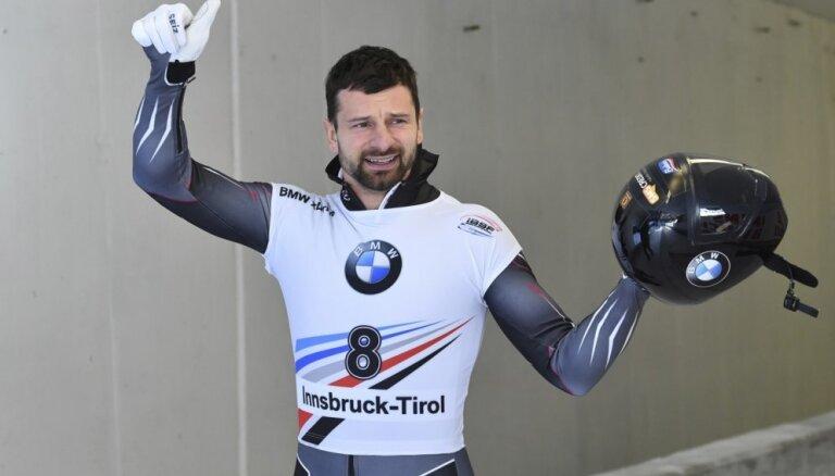 Martins Dukurs izcīna otro vietu Pasaules kausa posmā Leikplesidā